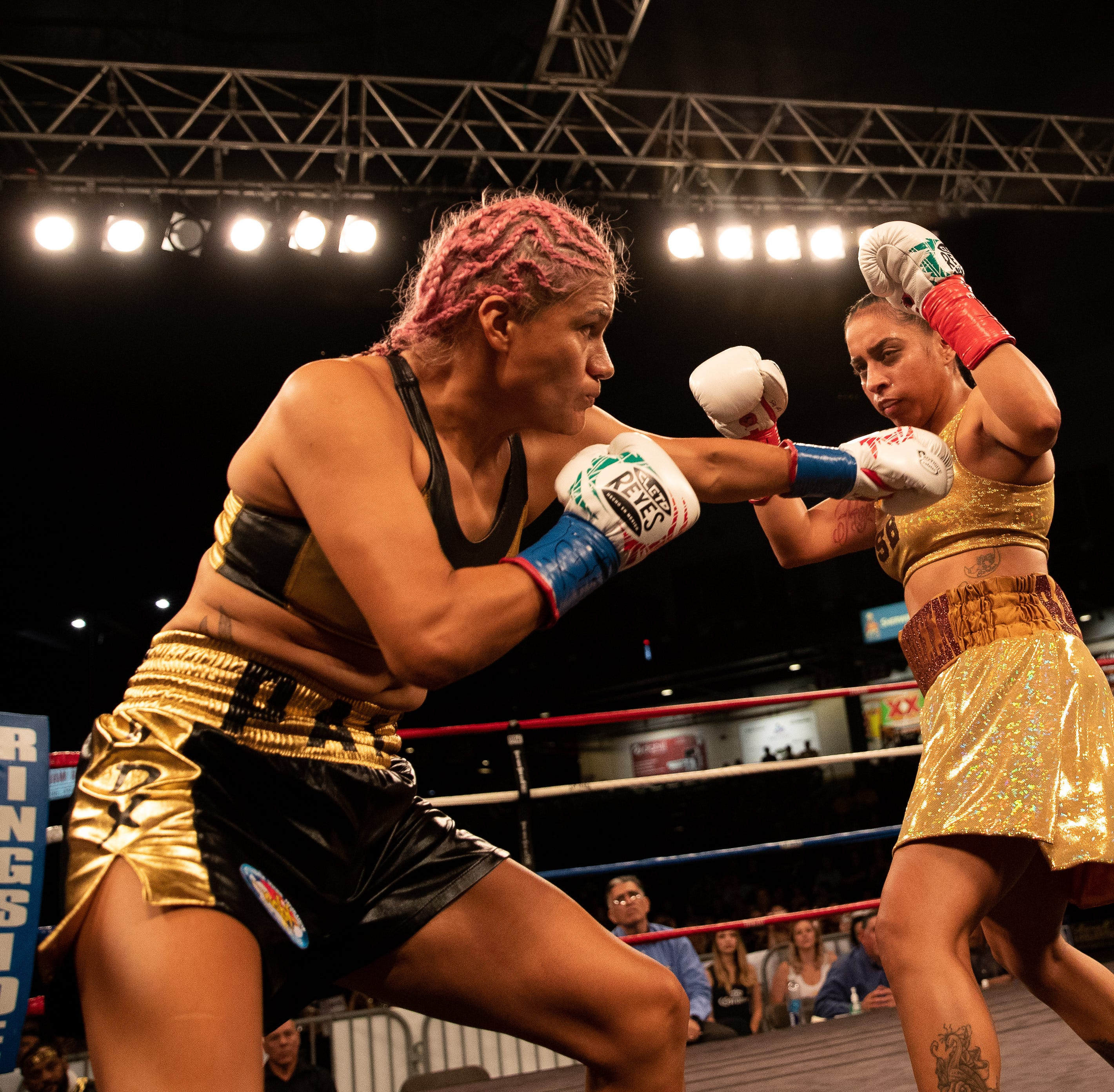 Knock it out of the park boxing event at Whataburger Field