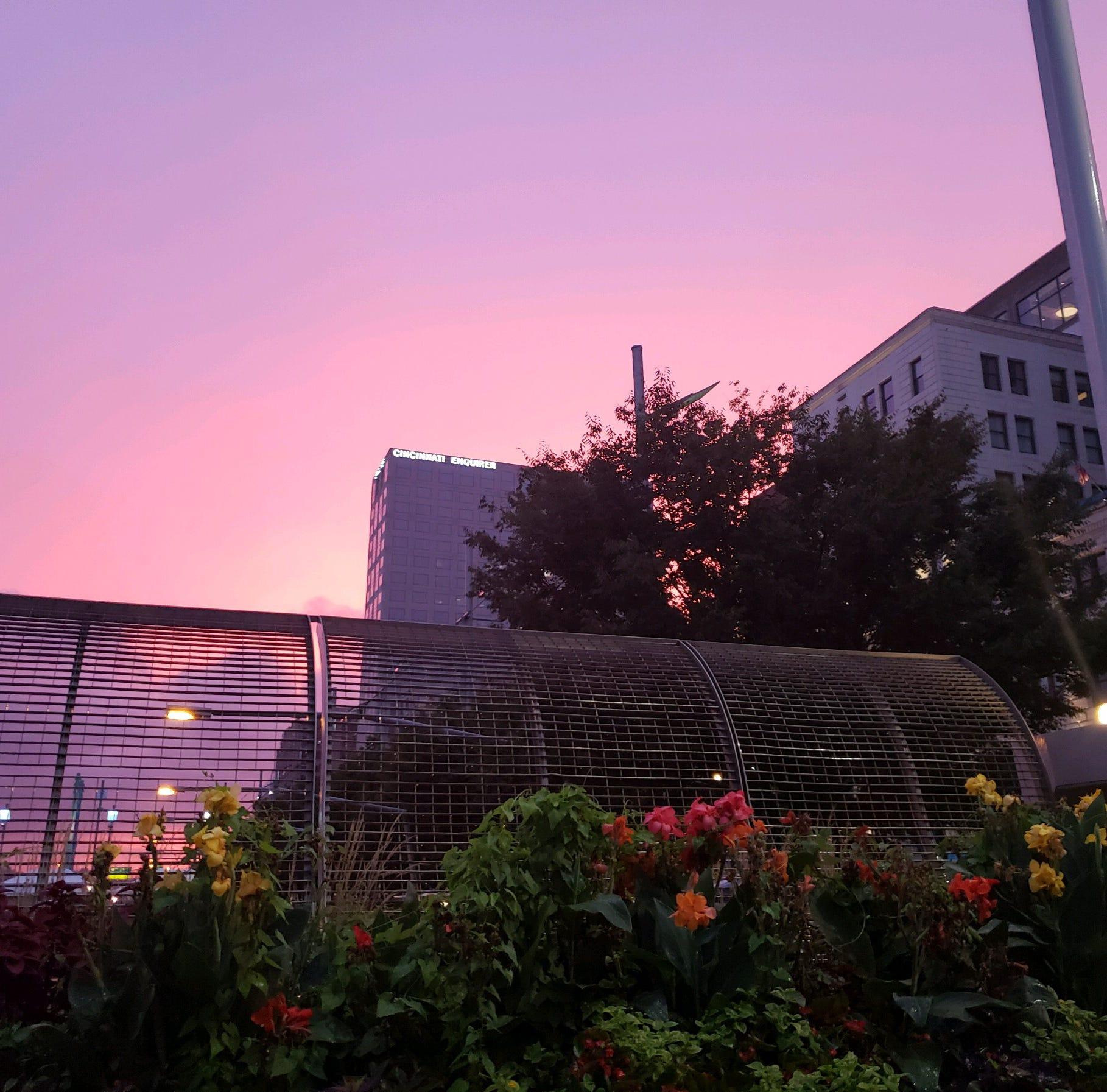 Enquirer readers share beautiful Cincinnati sunset, rainbow photos
