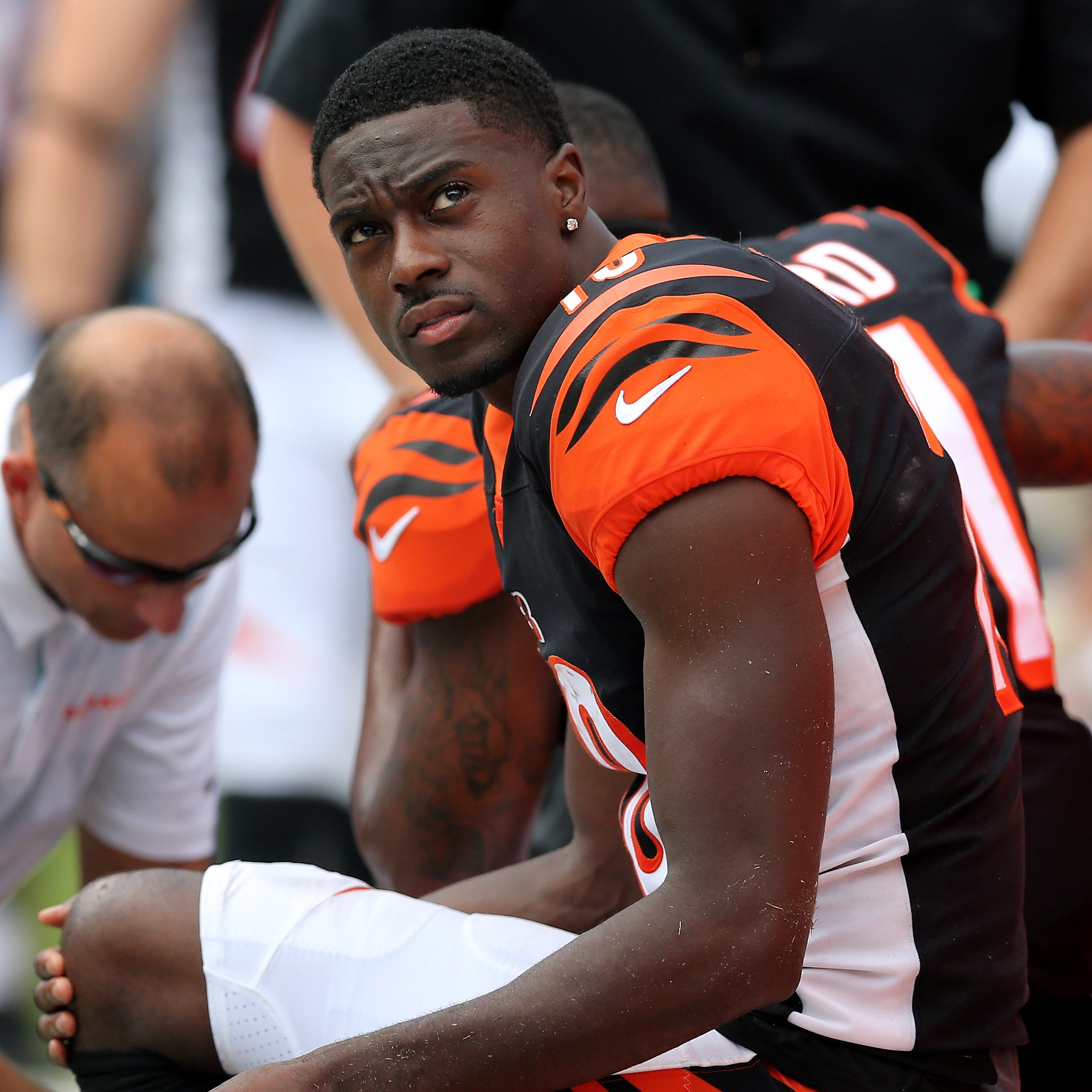 Cincinnati Bengals stall in fourth quarter at Carolina without A.J. Green