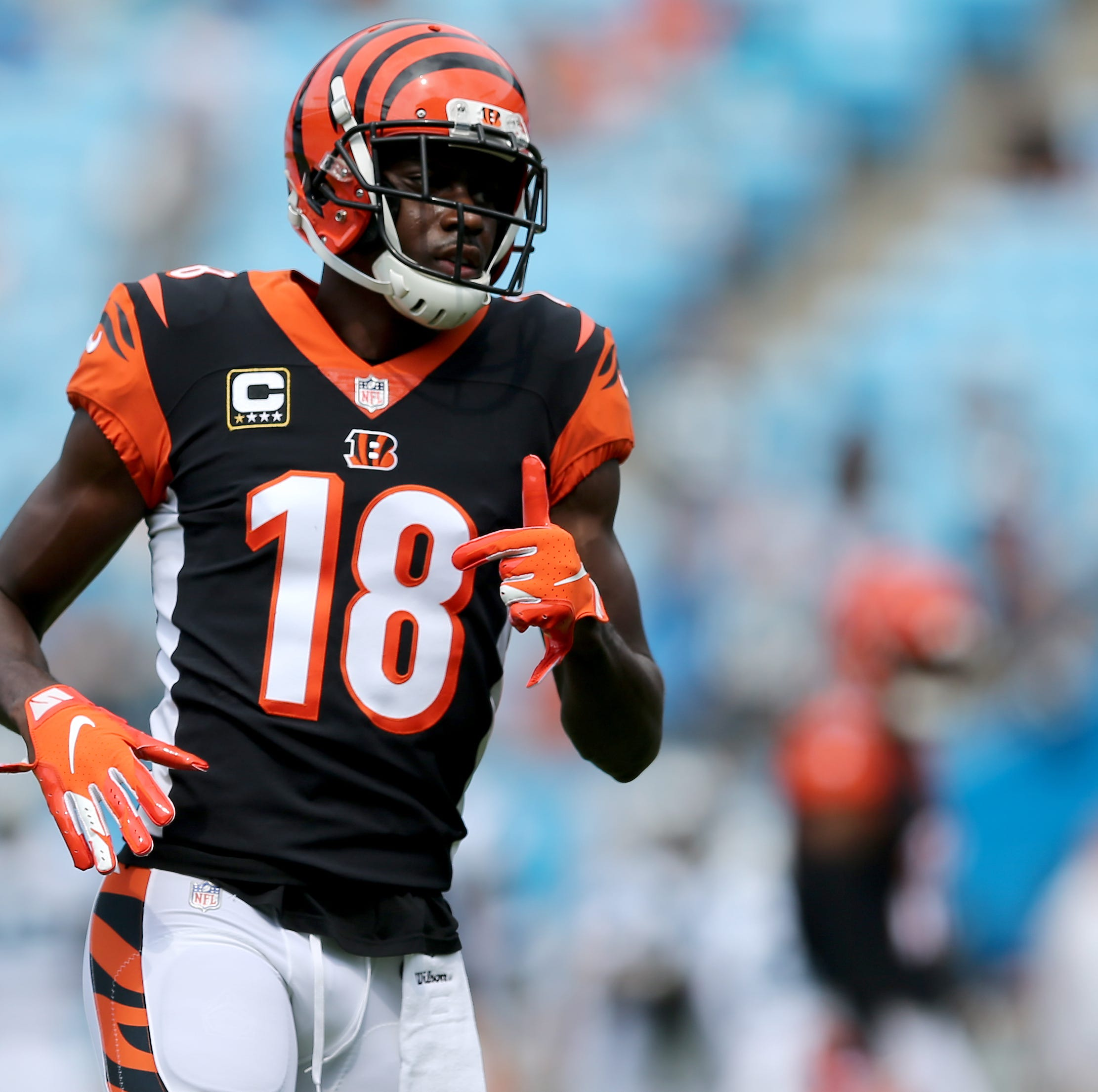 Cincinnati Bengals at Carolina Panthers: A.J. Green injured in Bengals loss