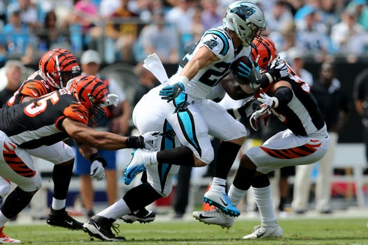 Cincinnati Bengals Vs Carolina Panthers Sept 23 Week 3