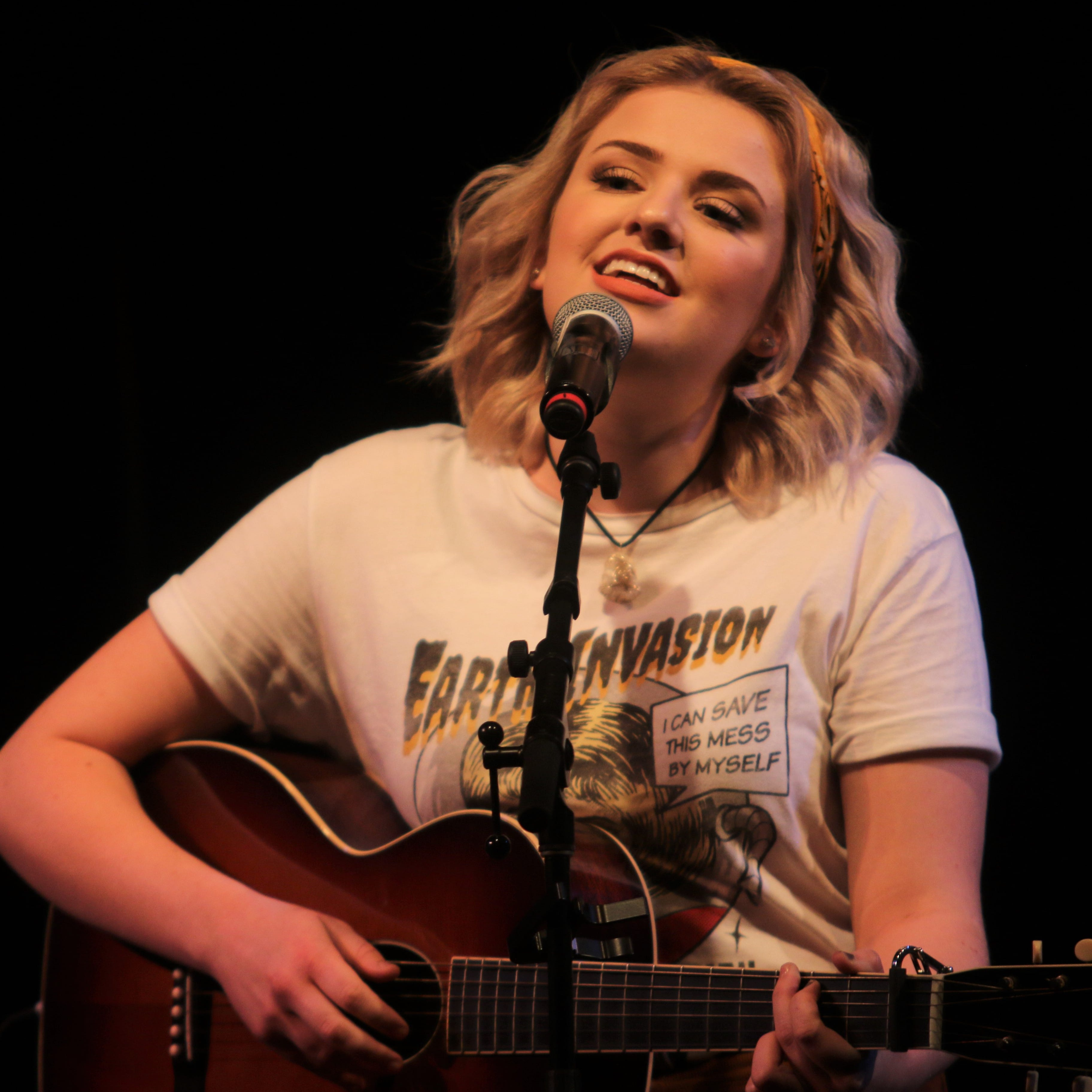 Get in the holiday spirit with Maddie Poppe's cover of 'Rockin' Around the Christmas Tree'