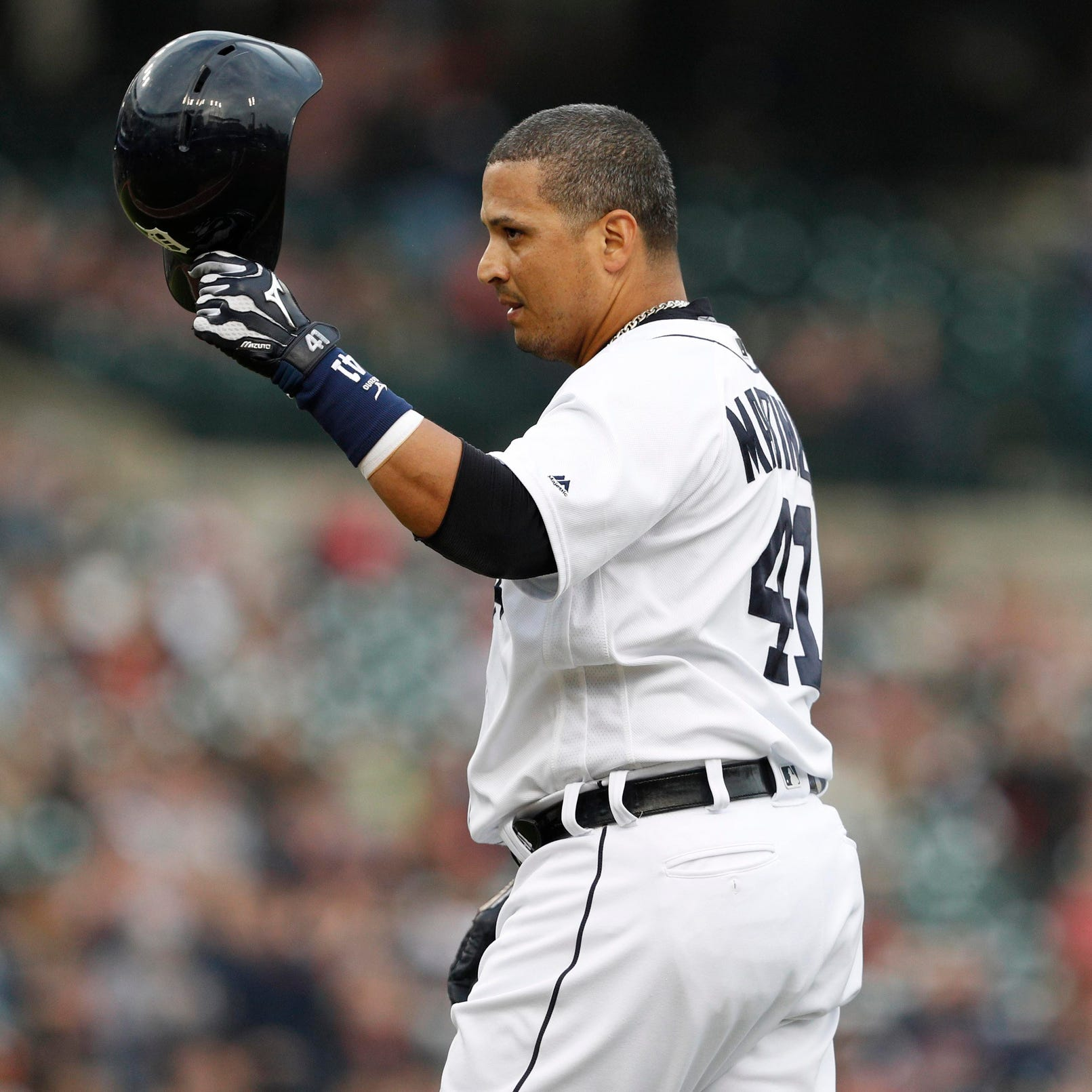 Inside Detroit Tigers' Victor Martinez's final game, start to finish