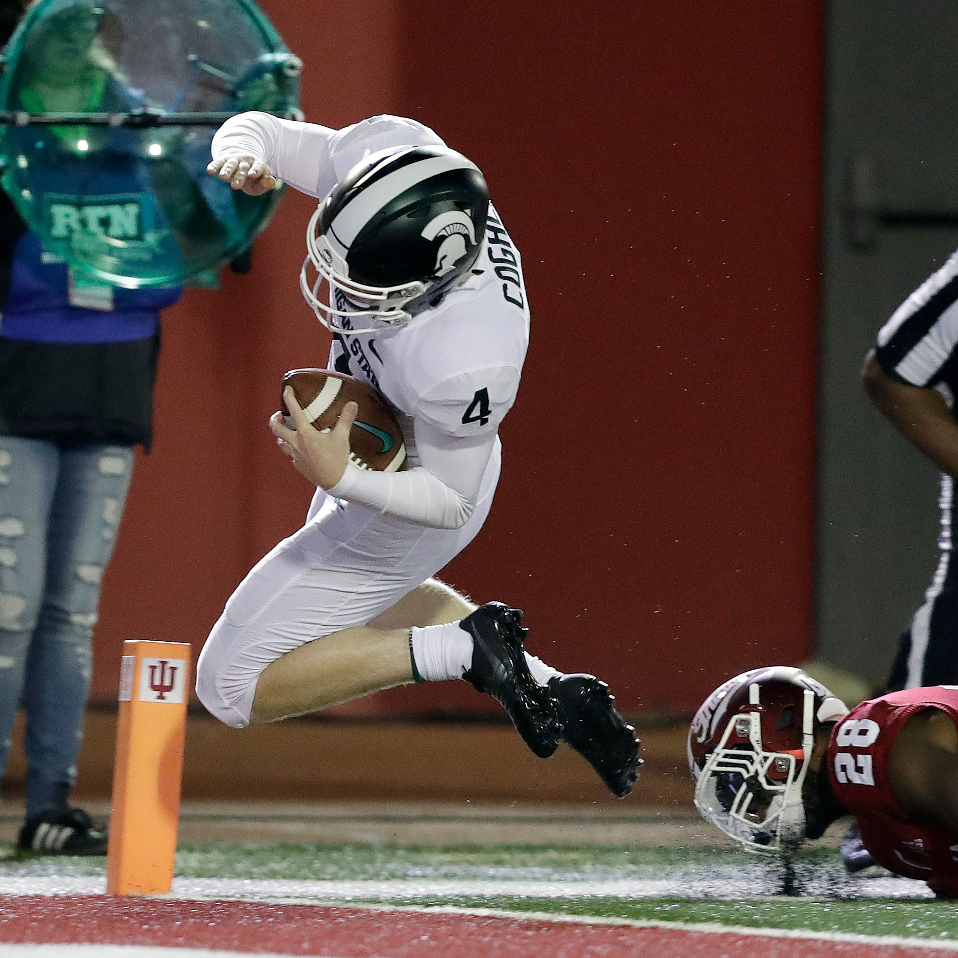 Mich. State football kicker Matt Coghlin 'rocks' another trick play into a TD