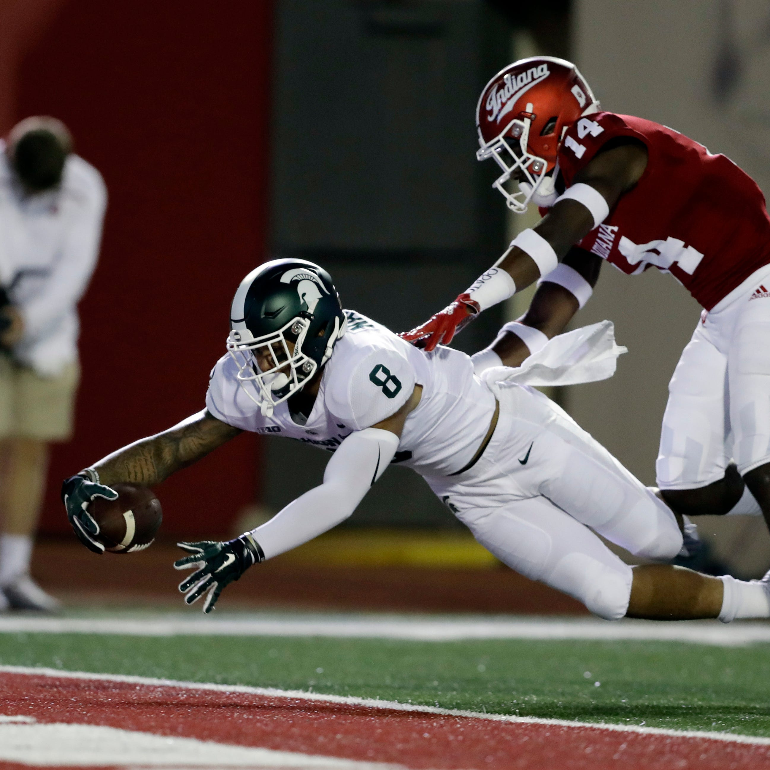 Michigan State football freshman Jalen Nailor stars in 35-21 win