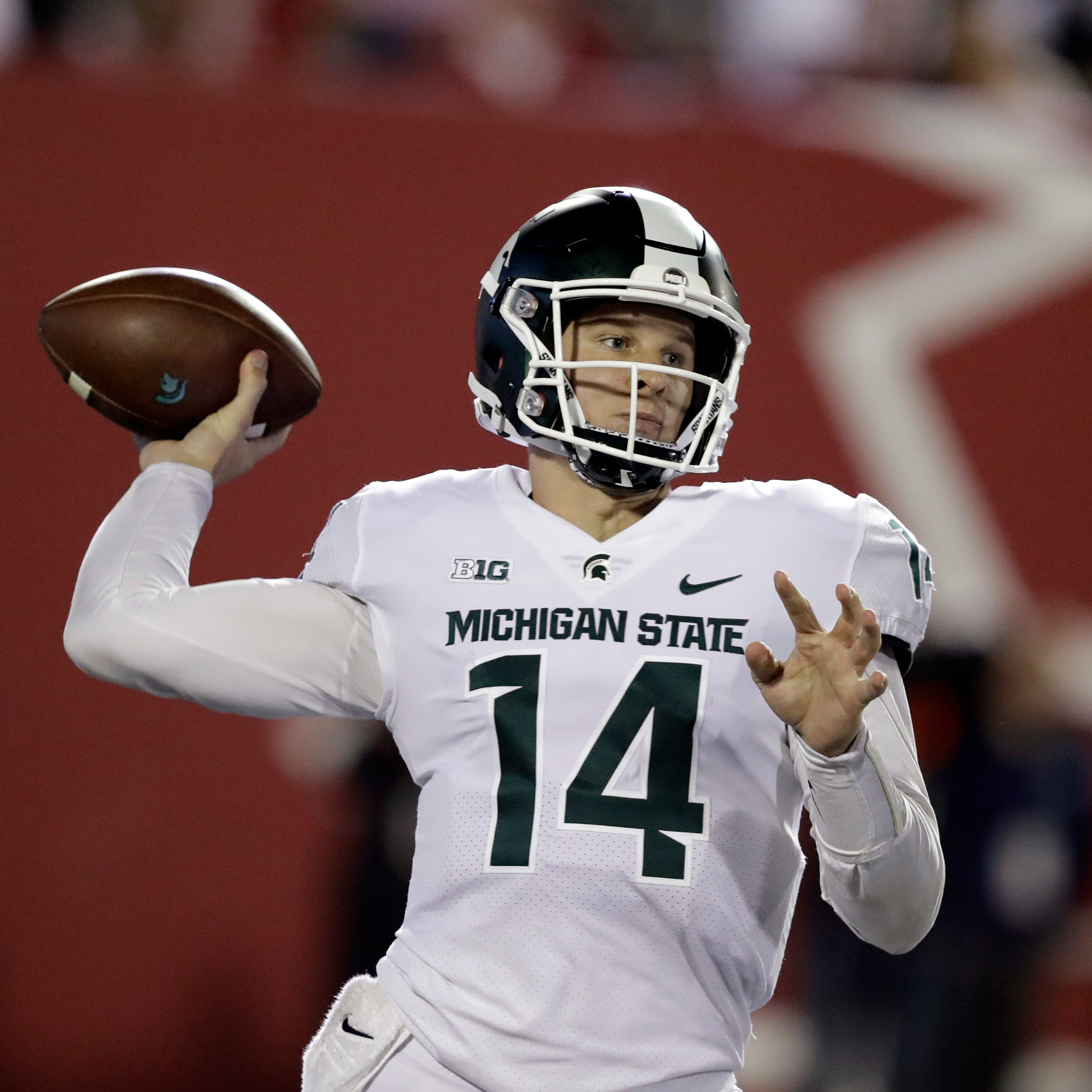 Michigan State's conservative play calling nearly doomed it vs. Indiana