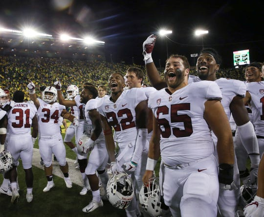 8. Stanford (4-0) | Last game: Defeated Oregon, 38-31 | Previous ranking: 8