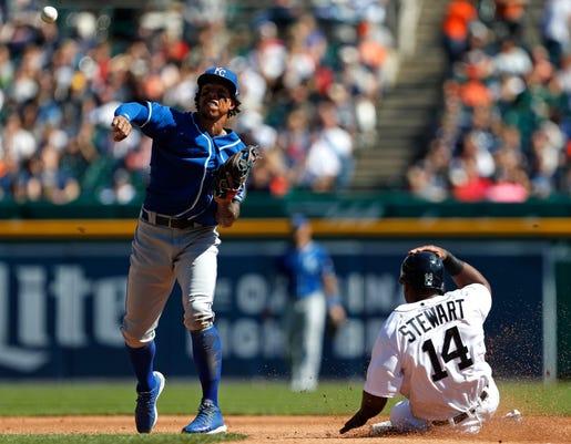 Mlb Kansas City Royals At Detroit Tigers