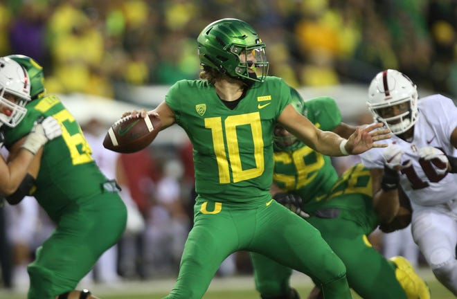 20. Oregon (3-1) | Last game: Lost to Stanford, 38-31 | Previous ranking: 19