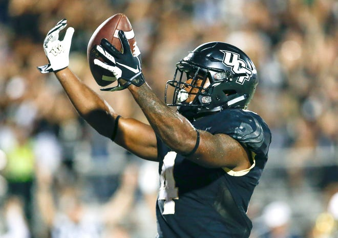11. UCF (3-0) | Last game: Defeated Florida Atlantic, 56-36 | Previous ranking: 13