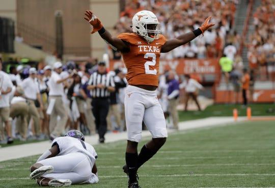 21. Texas (3-1) | Last game: Defeated TCU, 31-16 | Previous ranking: NA