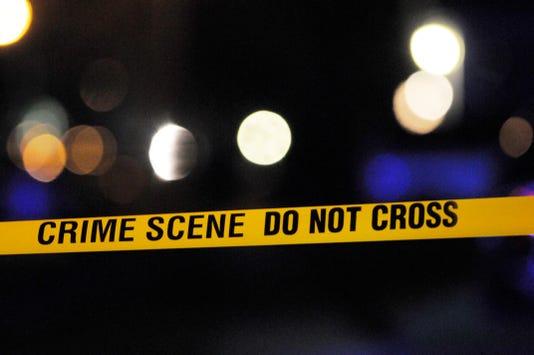 Crime Tape Night