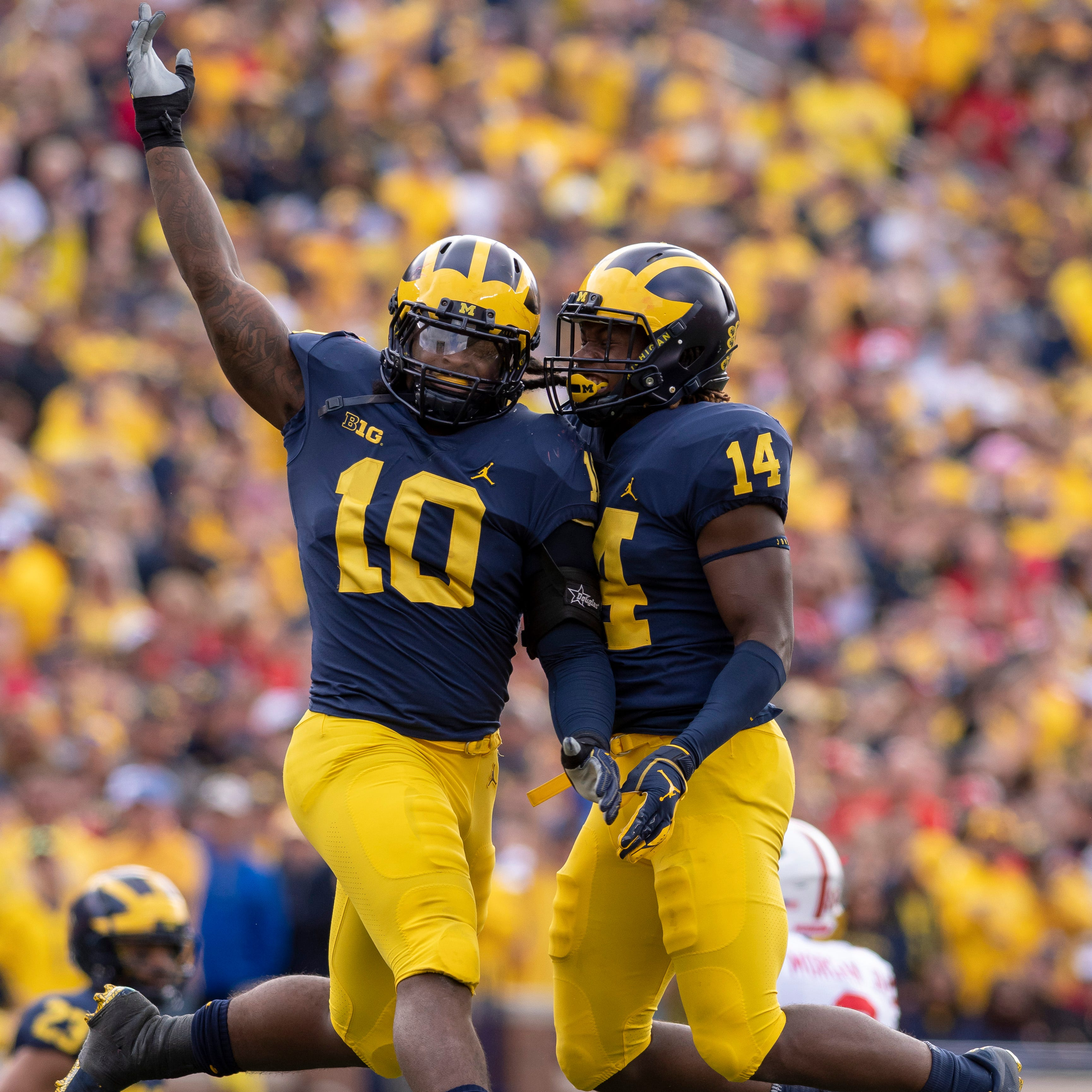 Wolverines 'on a roll,' ascending in all three phases
