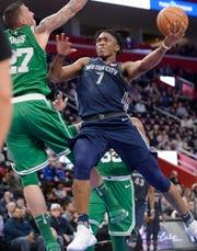 Stanley Johnson shot just 29 percent from 3-point range last season.