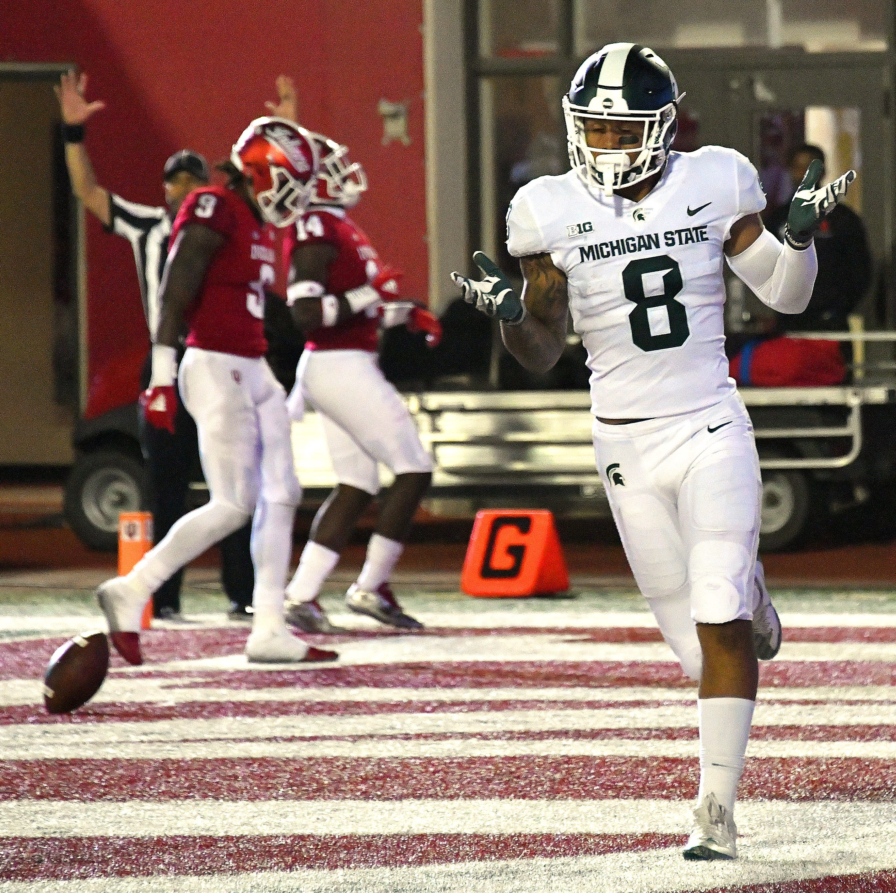 Injuries force MSU to scramble lineup in win over Indiana