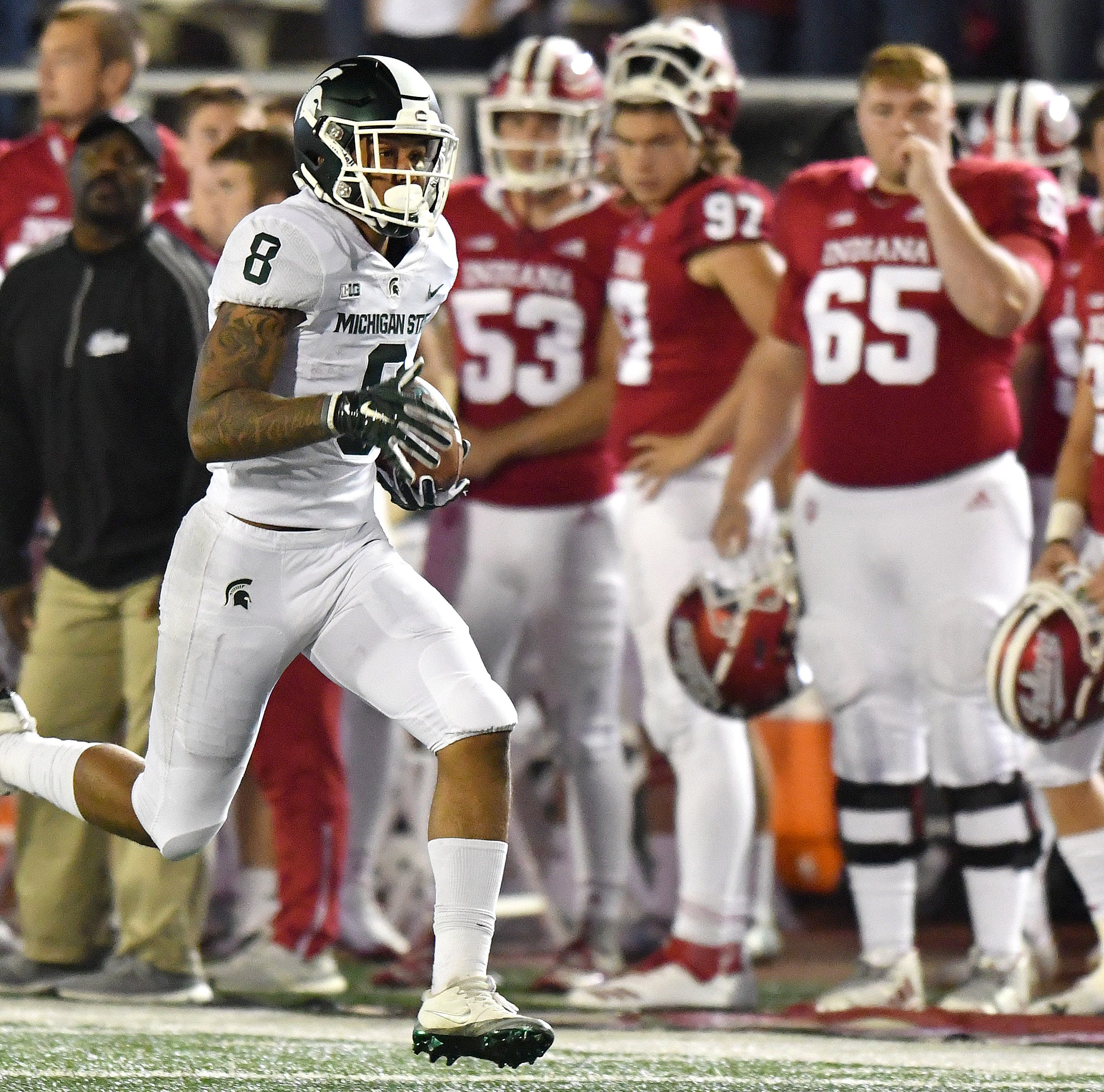 Michigan State's Nailor takes fast track to end zone