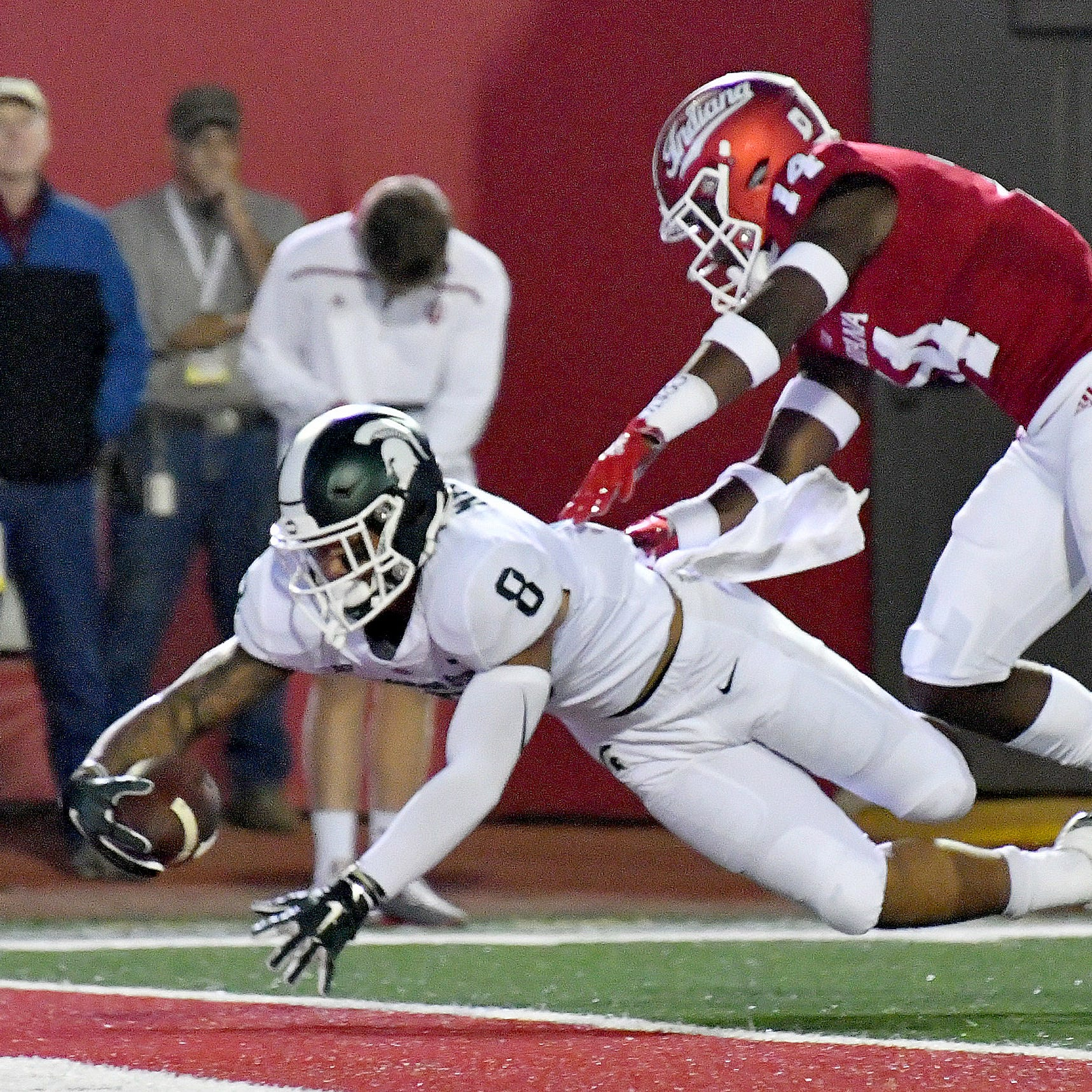 Spartans rise above miscues to win Big Ten opener over Hoosiers
