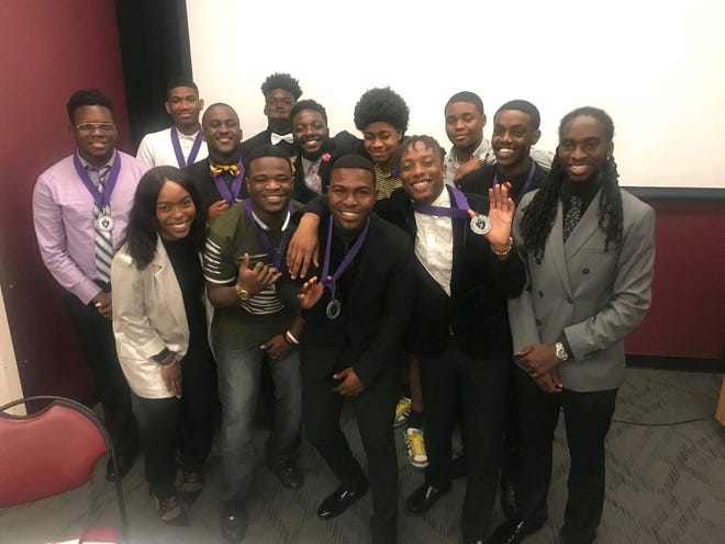 The Sons of Sophistication lead discussion on creating opportunites for young men of color.