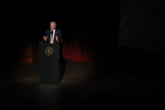 President John Thrasher commends the efforts of university's Raise the Torch campaign for exceeding its goal of raising one billion dollars.