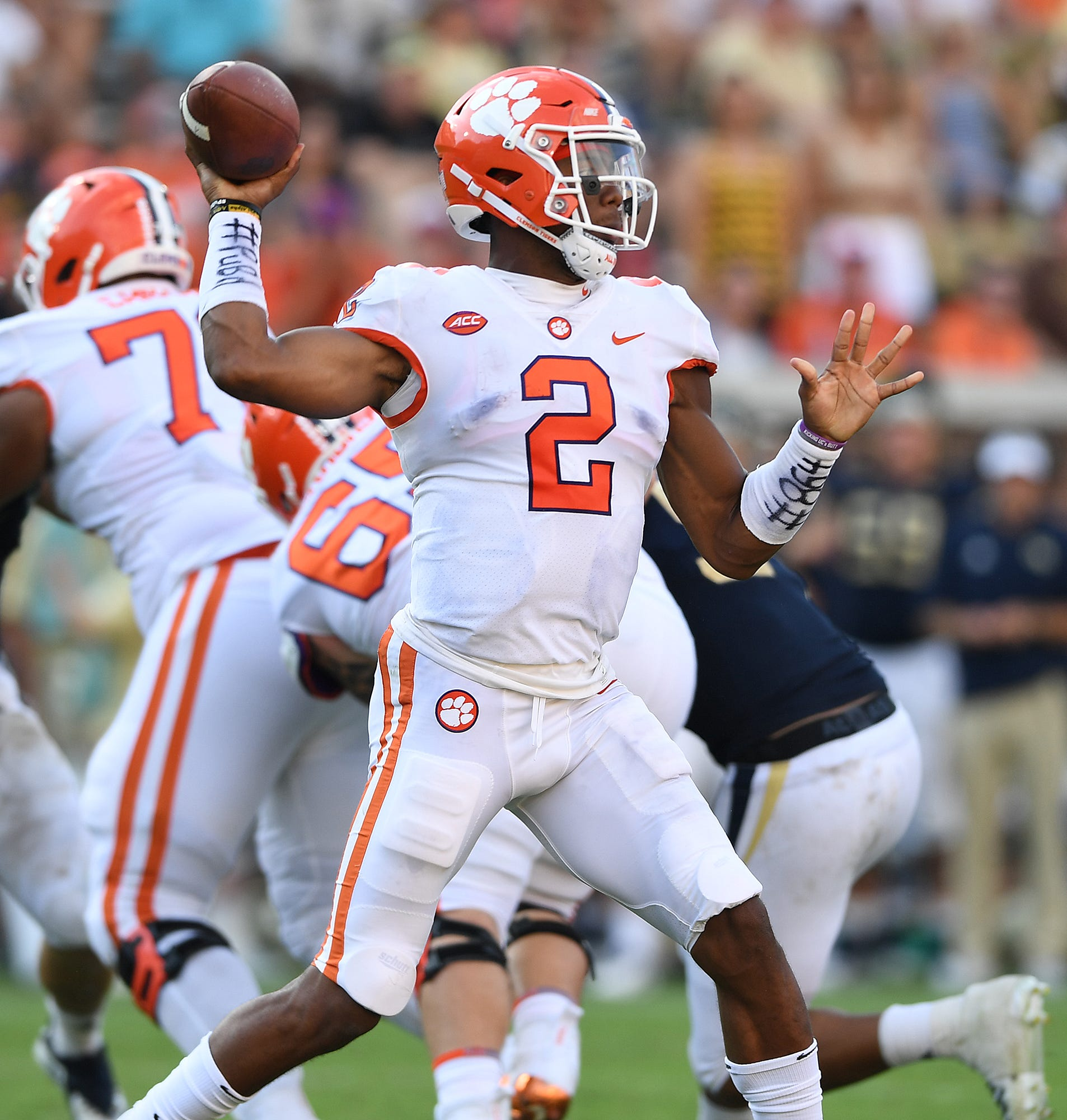 Former Clemson quarterback Kelly Bryant set for recruiting visit to North Carolina