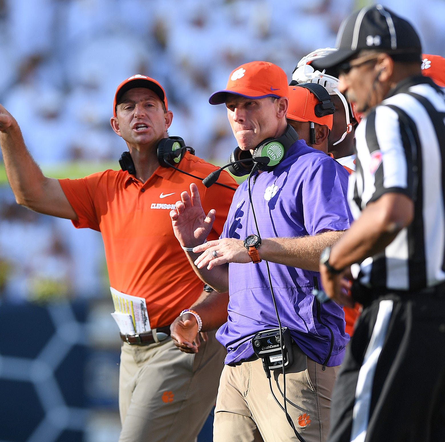 Run-Pass Option plays are fooling ACC defenses and officials