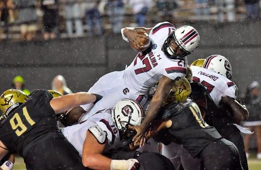 Ncaa Football South Carolina At Vanderbilt