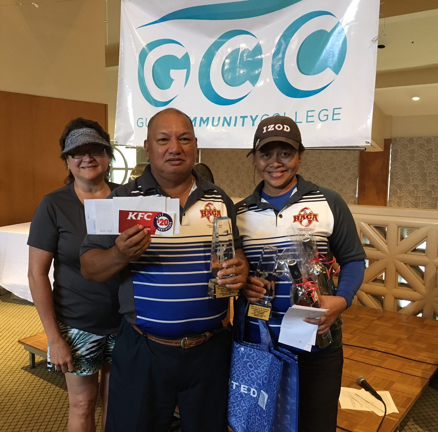 Annie Borja, Ed Castro win GCC golf tournament