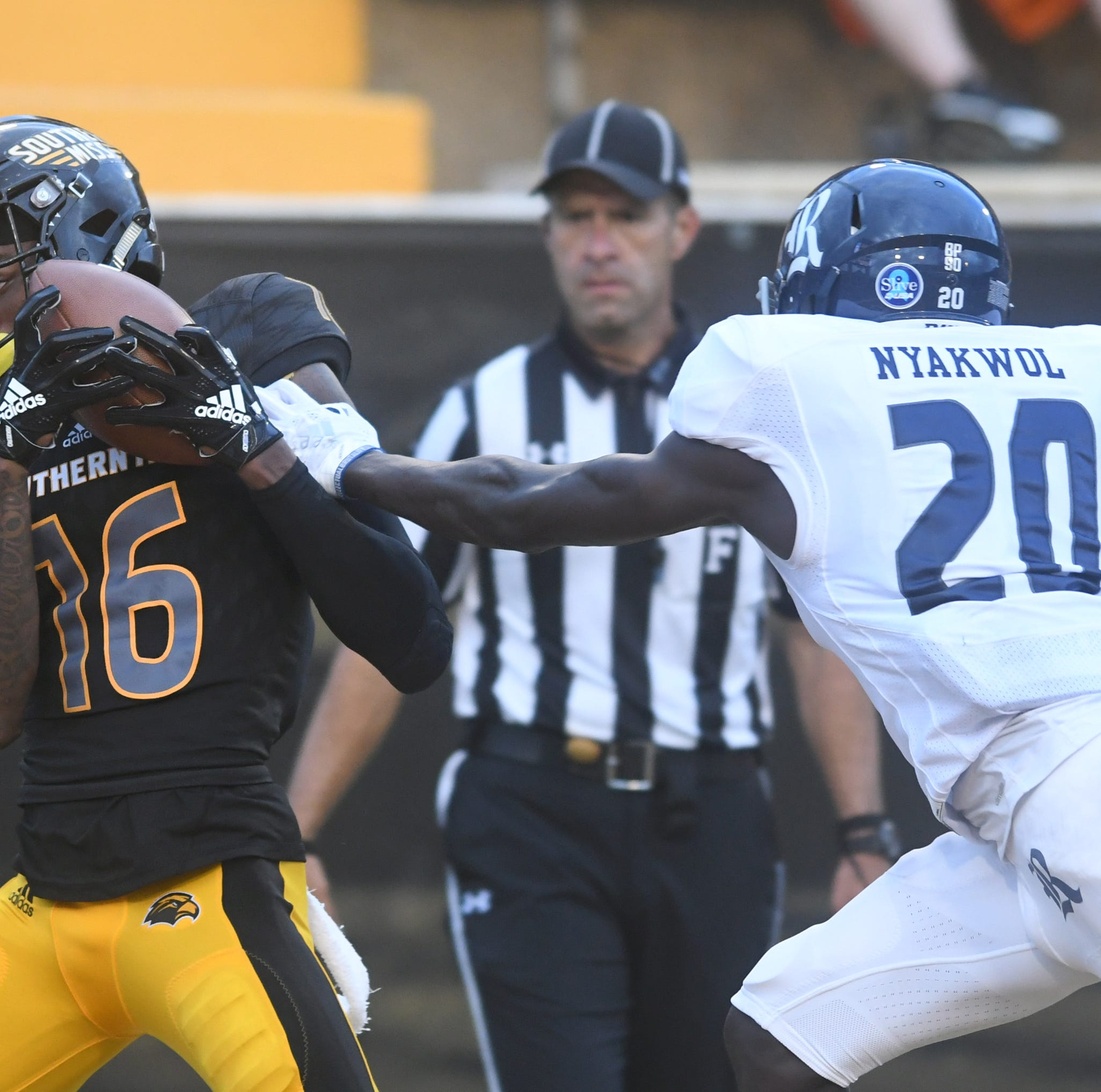 Southern Miss offense lights up Rice, leads Golden Eagles to 40-22 win in C-USA opener