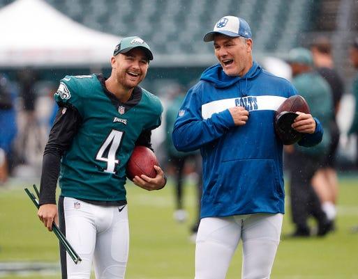 Indianapolis Colts Take On The Philadelphia Eagles