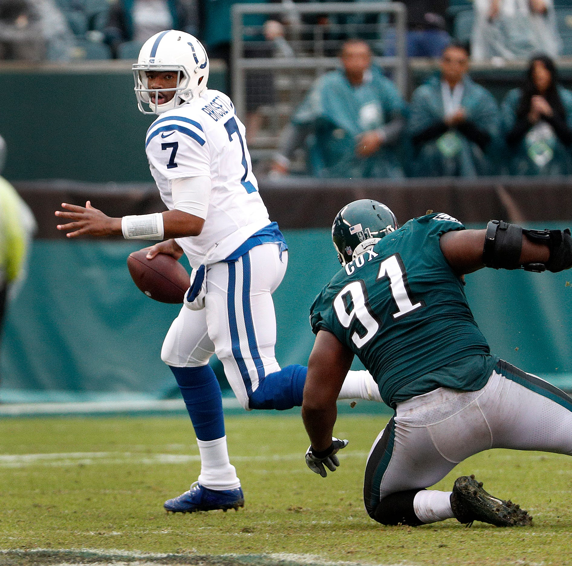 Here's why Andrew Luck wasn't QB for last play vs. Eagles