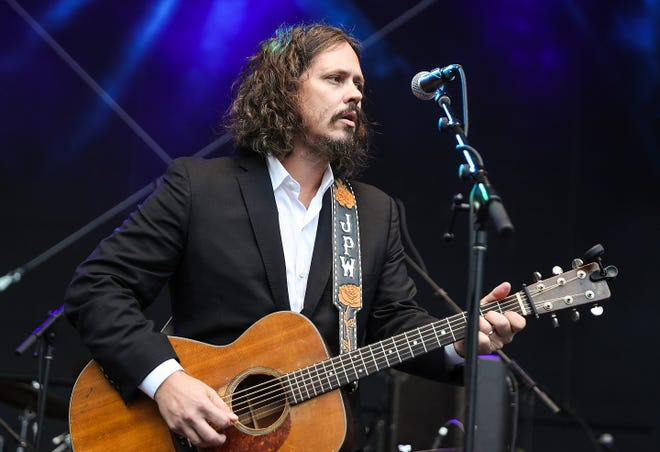 John Paul White performs Saturday as part of the Holler on the Hill festival.