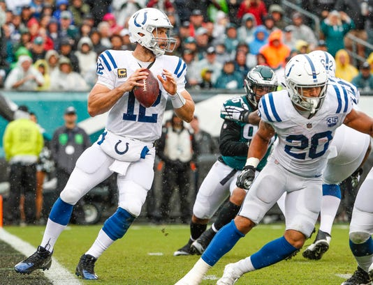 Photos Of The Indianapolis Colts Vs Philadelphia Eagles Game On Sunday September 23 2018