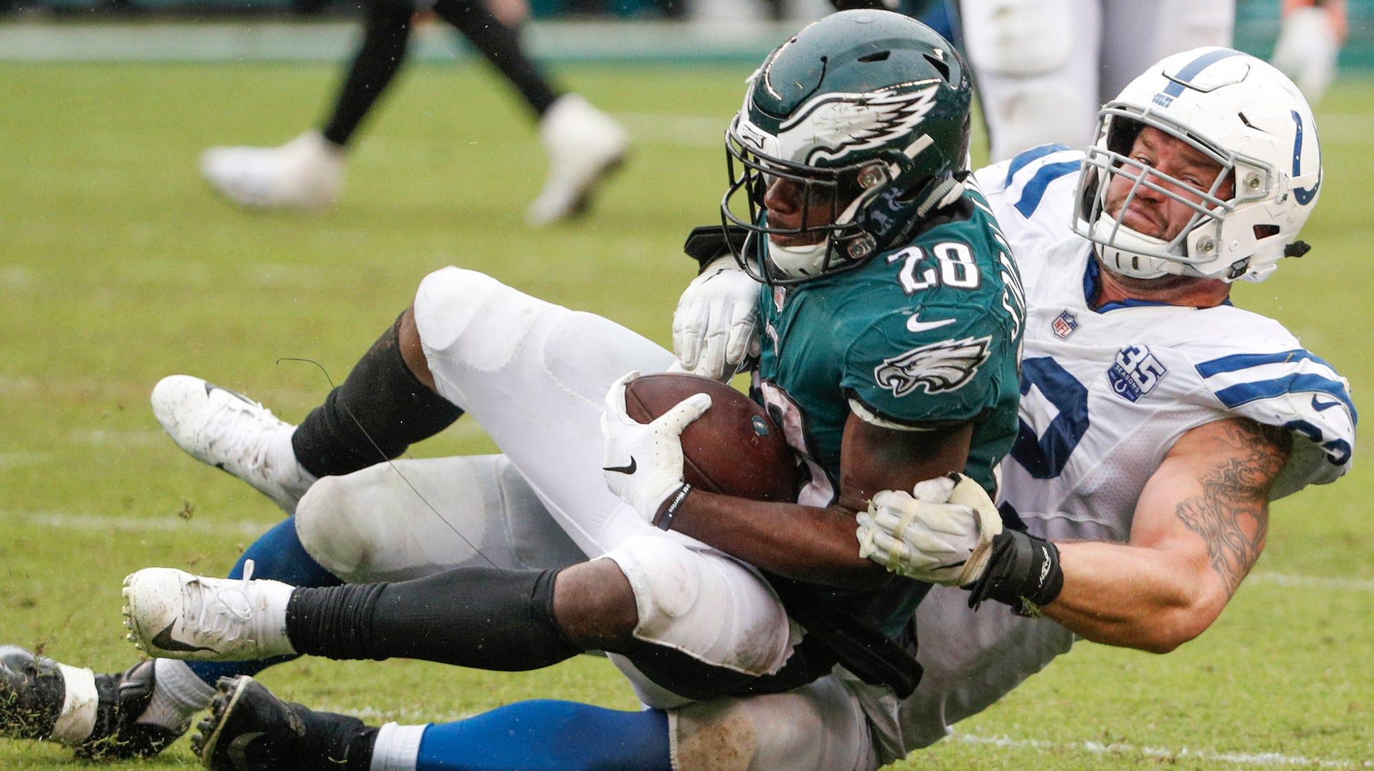 Colts thumbs up, down: Margus Hunt, Darius Leonard shine again, run game disappears
