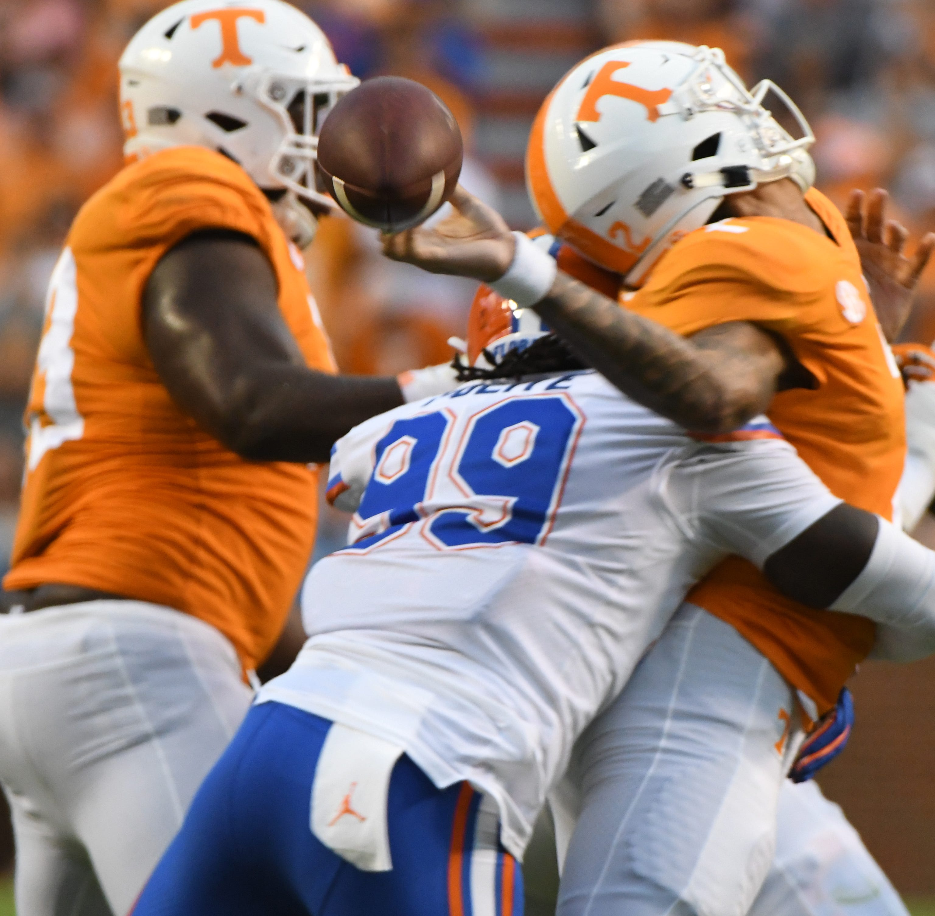 How Tennessee Vols lost 47-21 to Florida