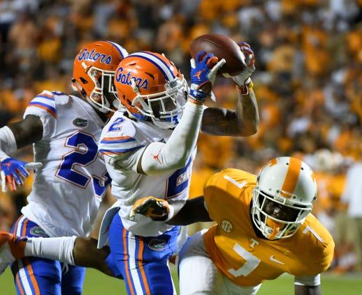 Ut Vols Florida Gators Destroy Tennessee Football 47 21