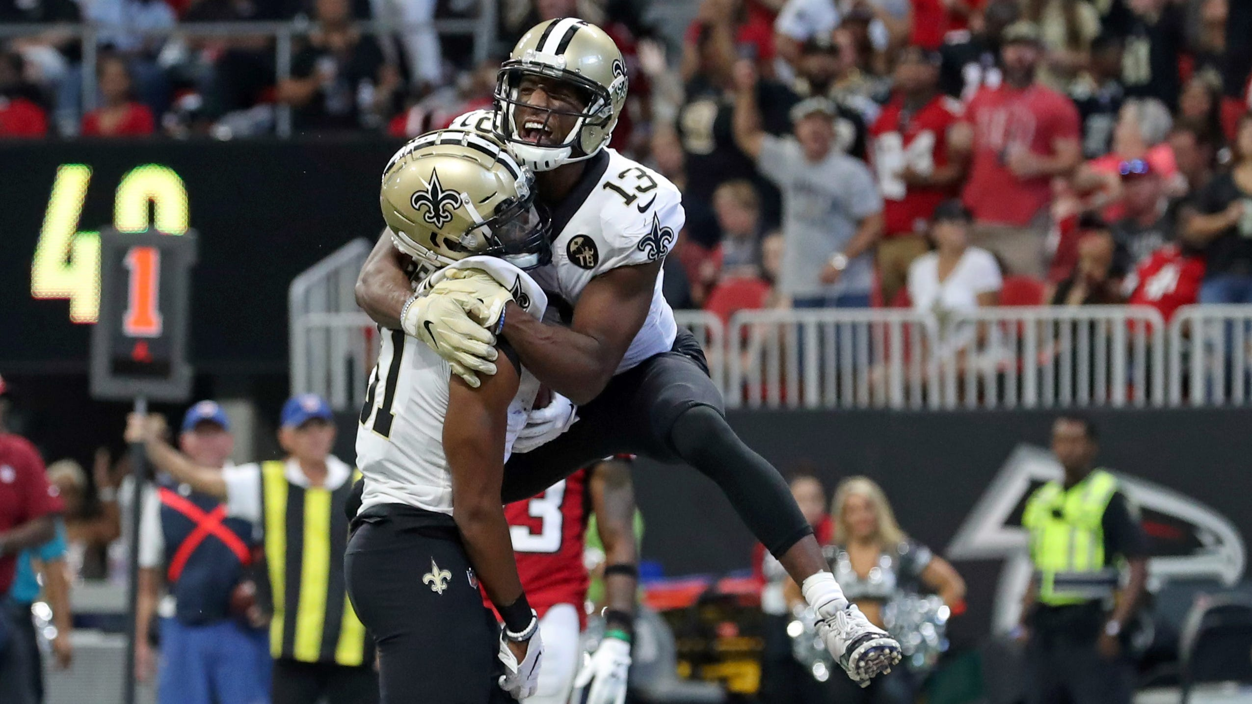 Saints' overtime victory over Falcons encouraging, but far from perfect