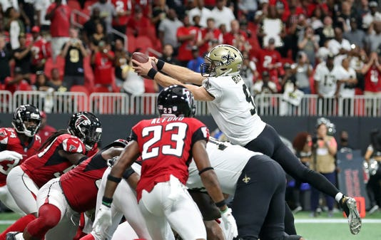 Nfl New Orleans Saints At Atlanta Falcons