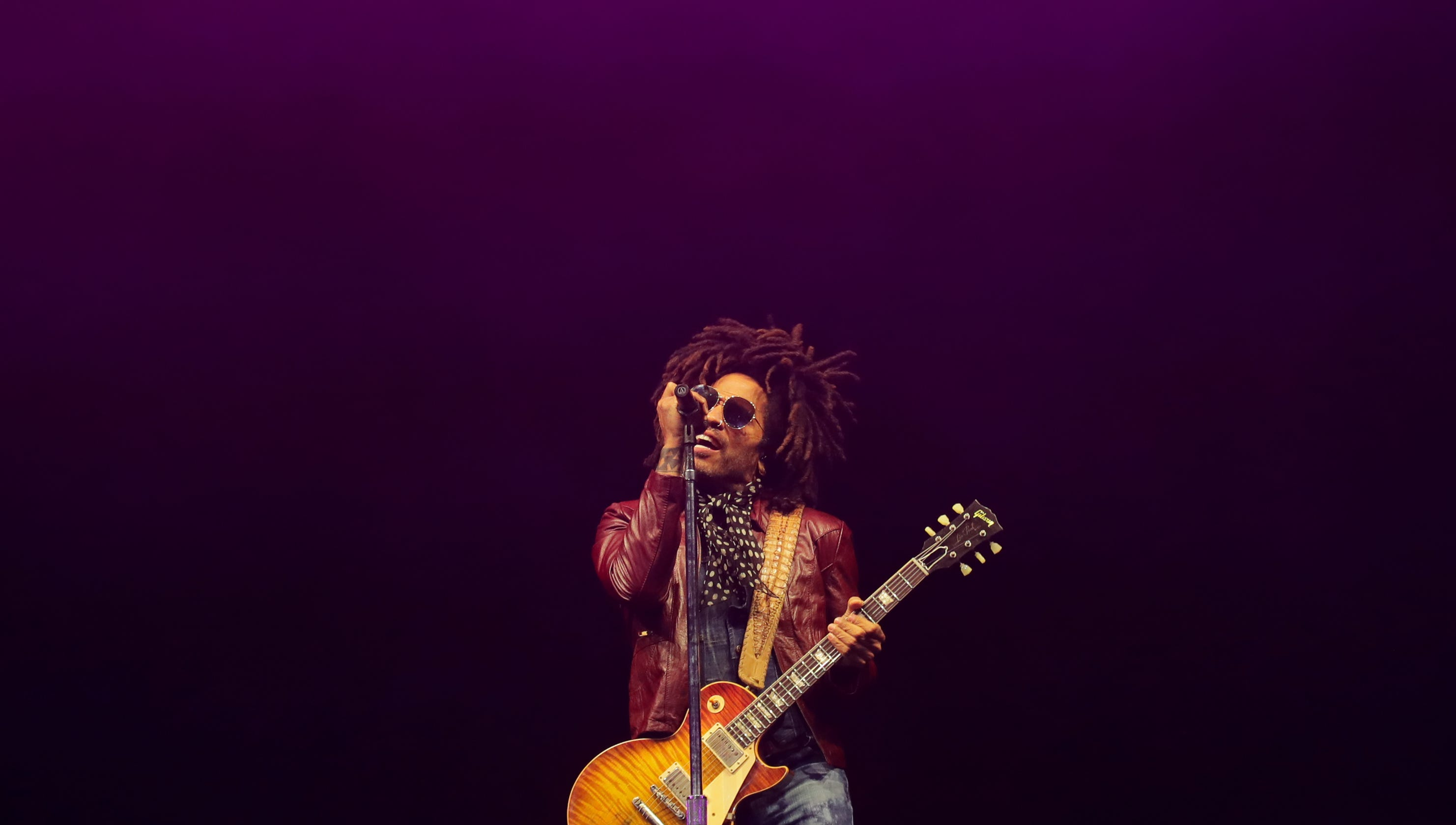 When Lenny Kravitz lost his mother, he turned to Johnny Cash