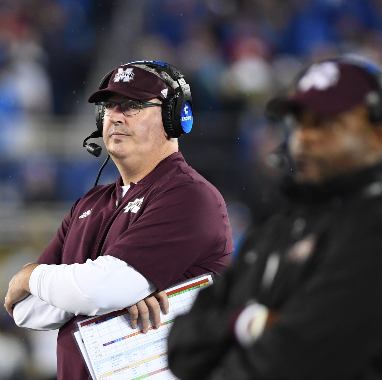Offensive line, not Moorhead, to blame for Mississippi State's ineffective offense