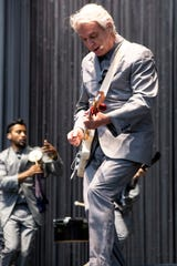 Former Talking Heads frontman David Byrne brought his musical magic and head spinning stage performance to the crowds at Bourbon & Beyond on Saturday. 9/22/18
