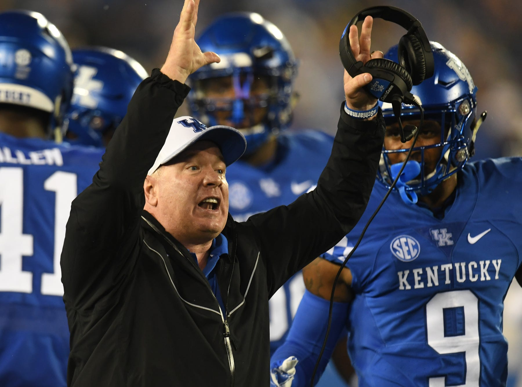 Mark Stoops: Kentucky could have as many as 12 NFL draft picks in 2019