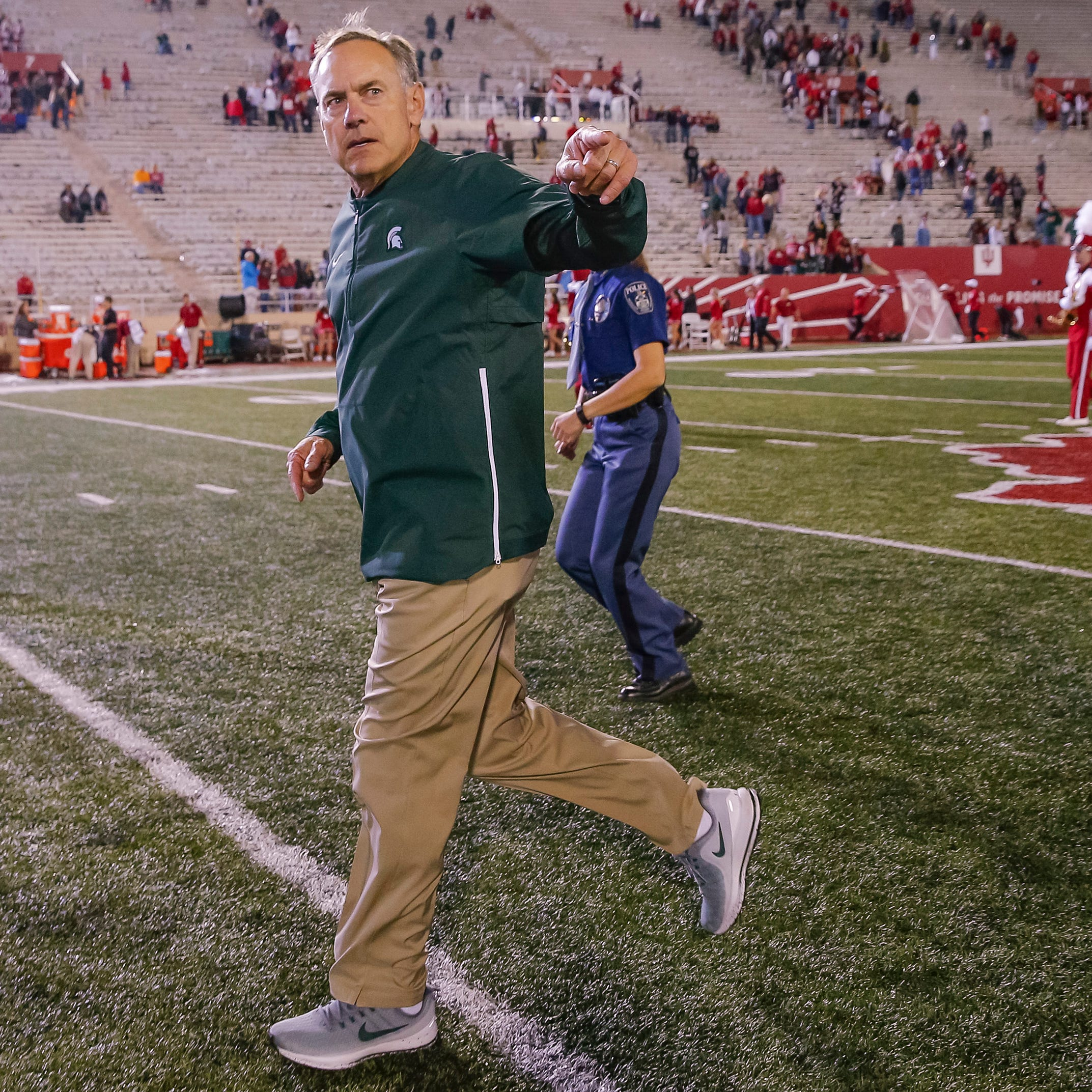 Grading Michigan State's performance in a 35-21 win at Indiana