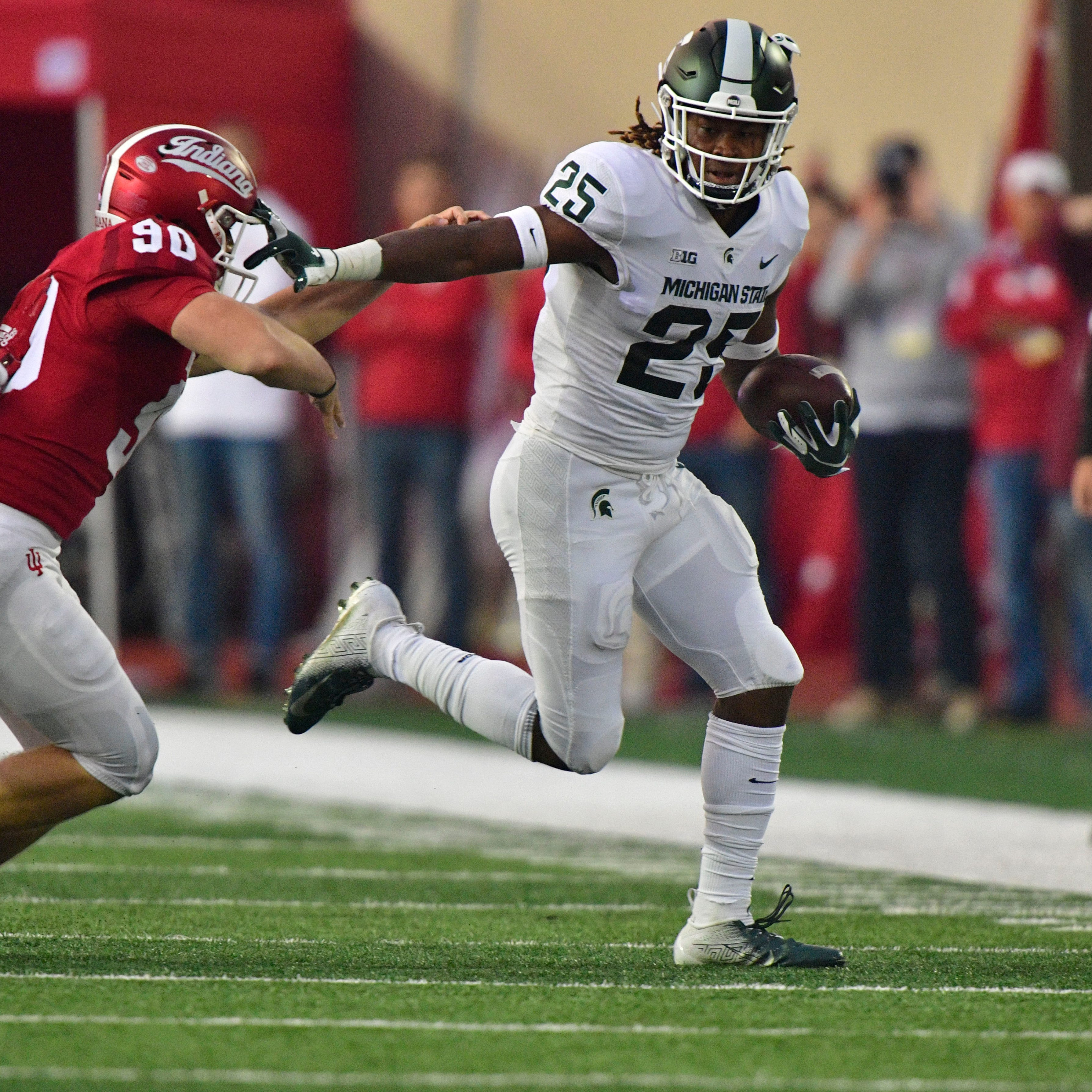 Replay: Michigan State football 35, Indiana 21