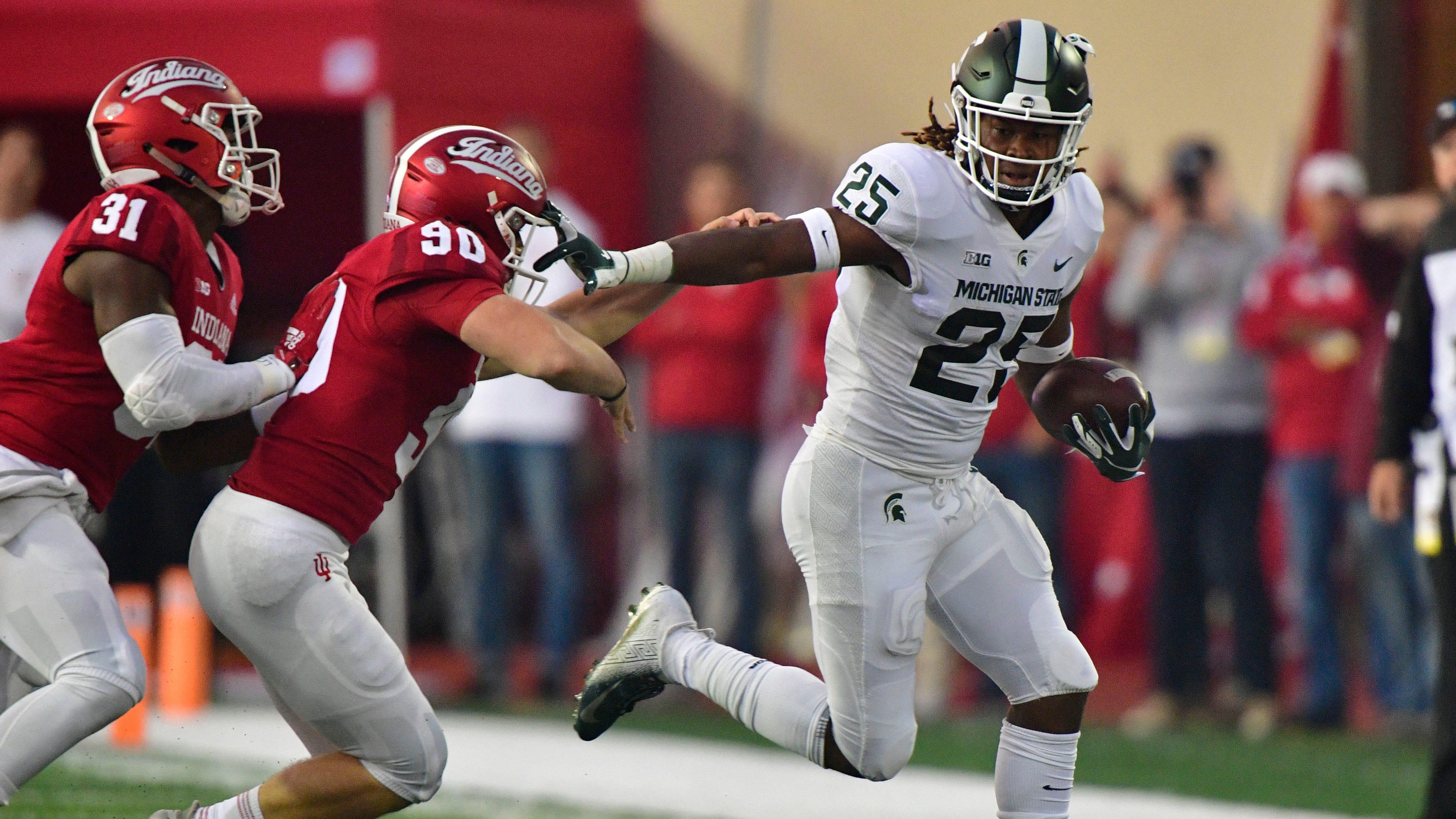 Replay: Michigan State football 35, Indiana 21