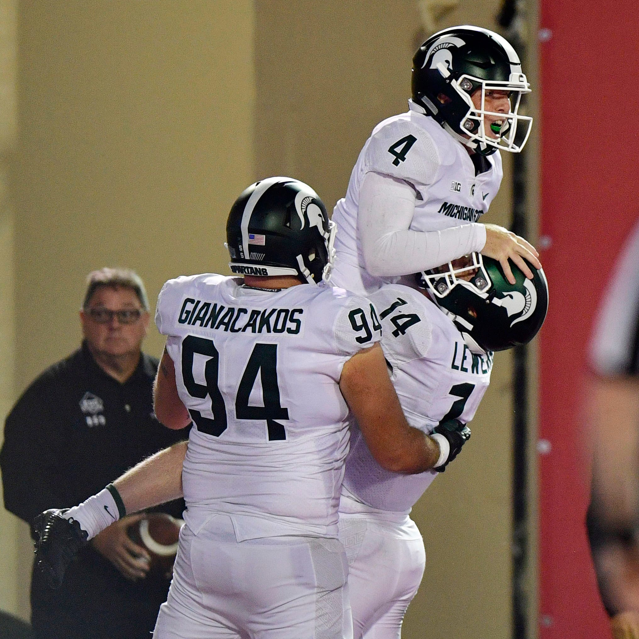 Michigan State football dials up trick-play touchdown on special teams vs. Indiana