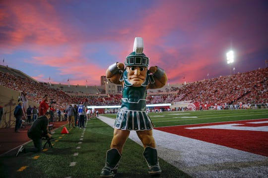 Michigan State's Sparty is scheduled to attend a Dec. 30 pep rally In San Francisco, one day before the Red Box Bowl in Santa Clara, Calif. Admission to the event is free.