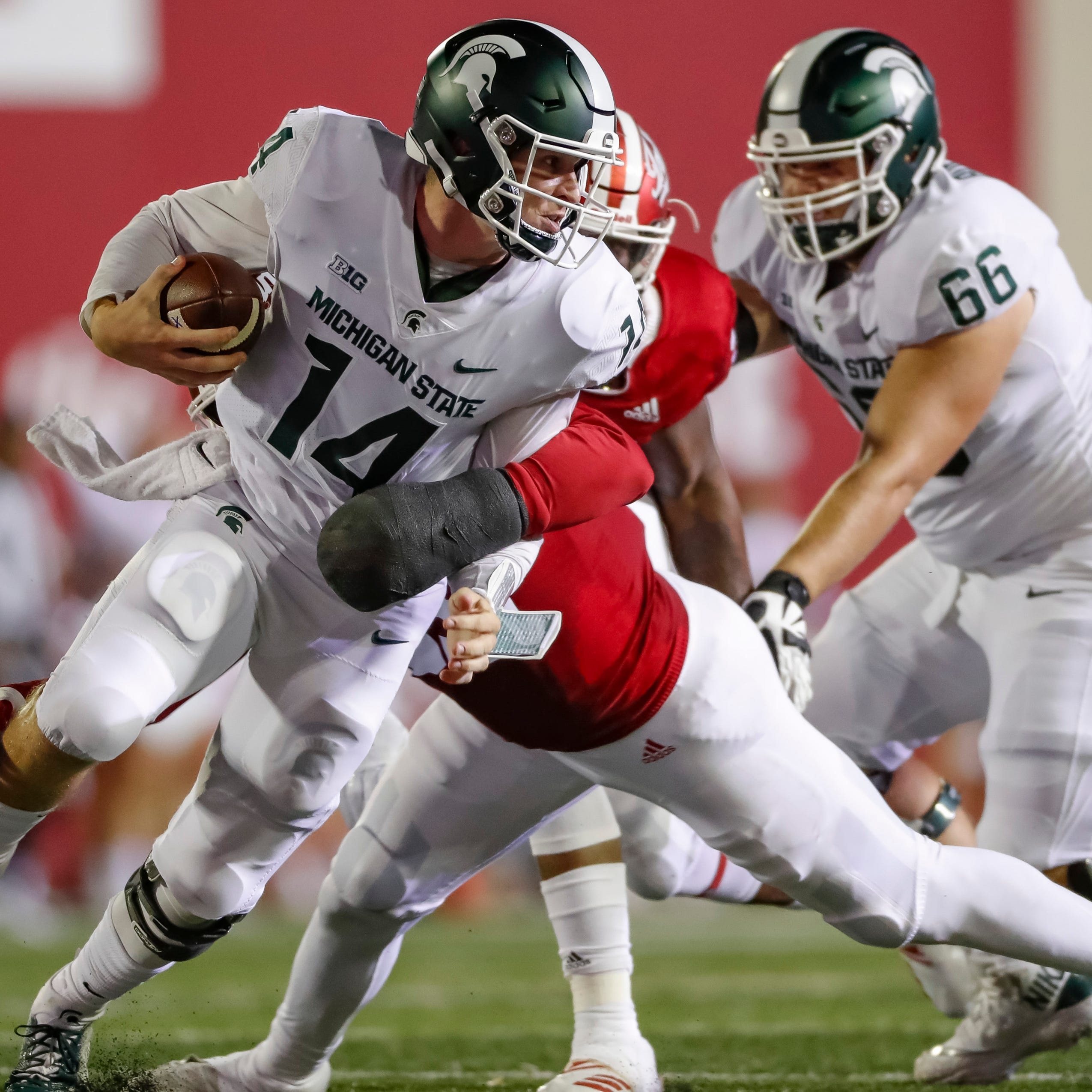 Michigan State football suffers more injuries along banged-up offensive line