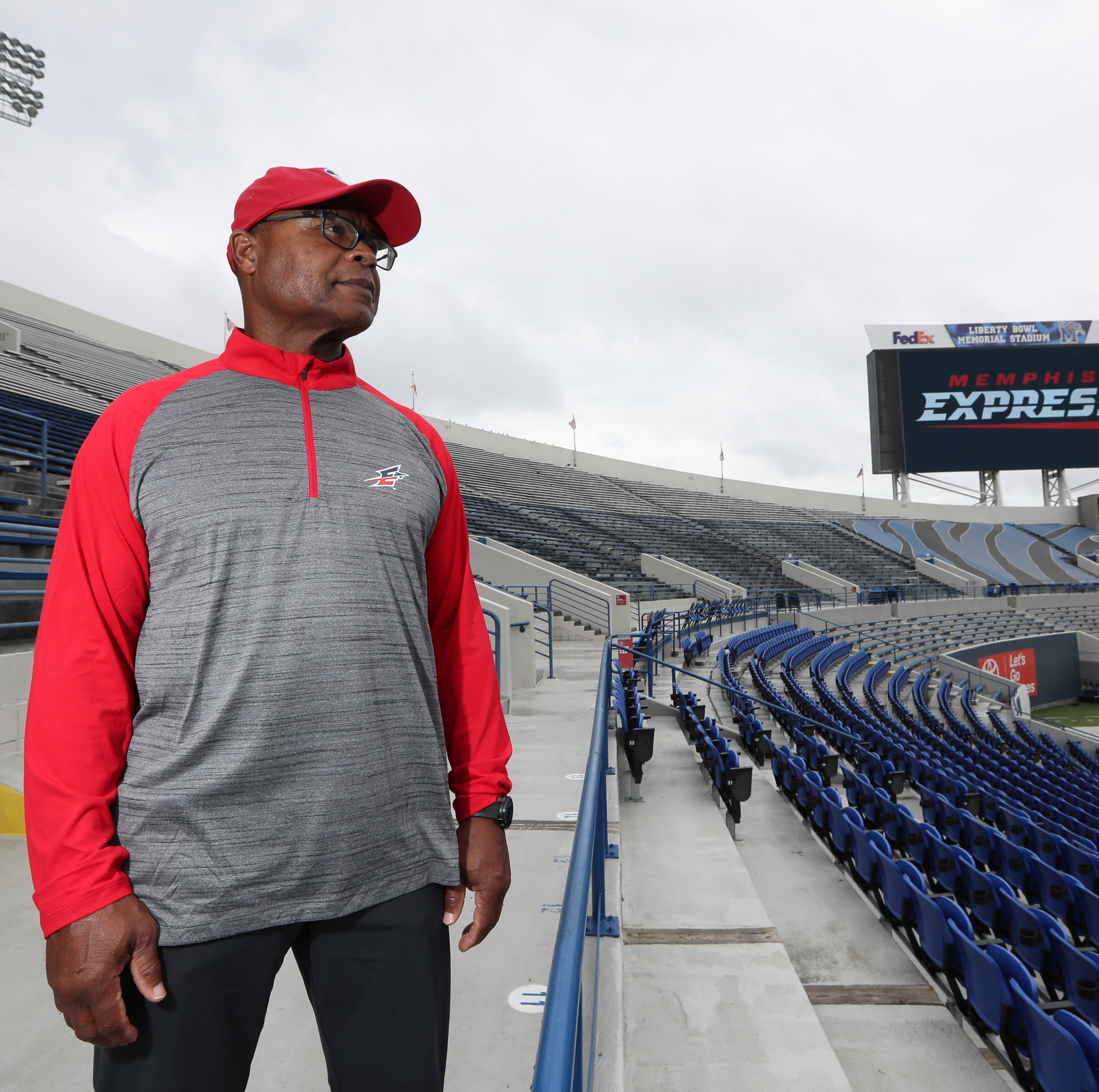 Memphis Express coach Mike Singletary: 'It was time to ... take the test'