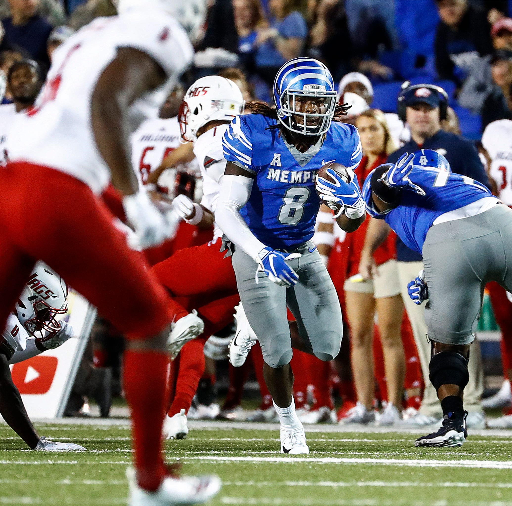 Memphis football career over for Darrell Henderson, who will skip Birmingham Bowl