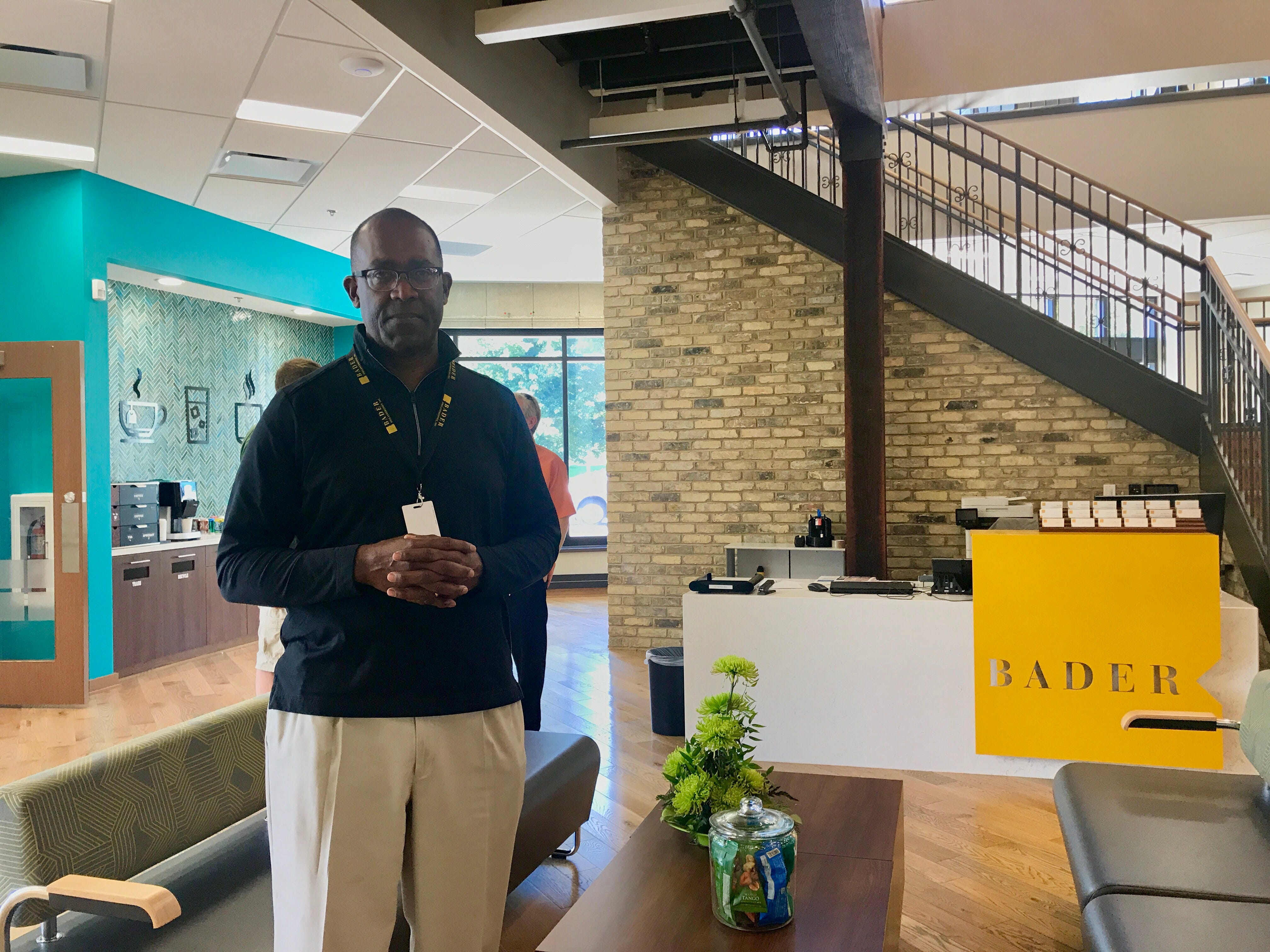 Vice President of Engagement for Bader Philanthropies Frank Cumberbatch is pictured in the organization's new headquarters on North King Drive during Doors Open Milwaukee 2018 on Sunday.